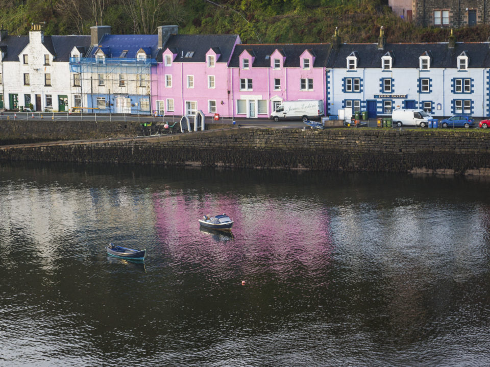 Town of Portree, Isle of Skye
